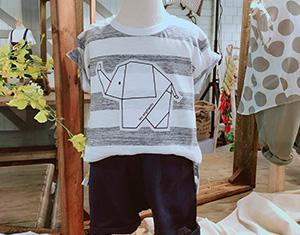 丽婴房千金零娇气用折纸大象,打造最简单的童装